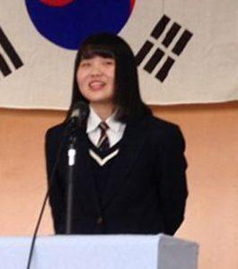 韓国語スピーチ