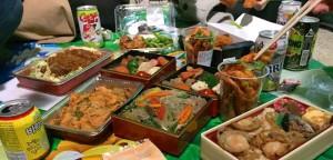 花見の韓国料理